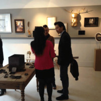 Exhibition at the  gallery Art Ligue
