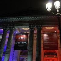 """Exhibition Grand Palais """"comparaisons"""" Paris, 2015."""